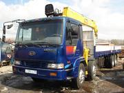 Продам грузовик КИА ГРАНТО 2002 г.в.,  с краном-манипулятором 25 тонн