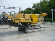 Дробильная установка Komatsu BR100JG.