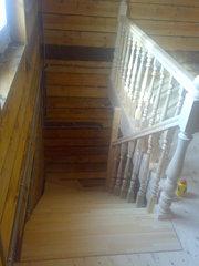 Изготовление деревянных лестниц на заказ. Скидки