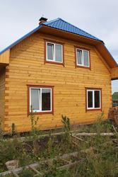 Рубим дома из бруса