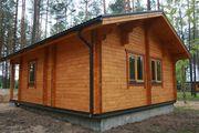 Строим   дома,  бани,  садовые домики,  котеджи из профилированного бруса
