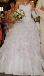 Продаю Свадебное красивое белое платье